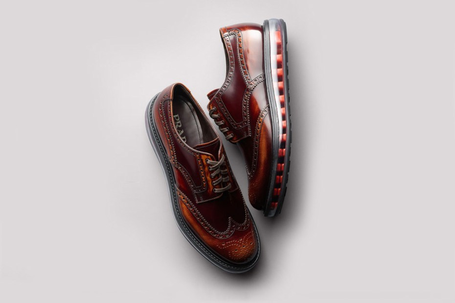 Image of Prada 2012 Fall/Winter Levitate Wingtip