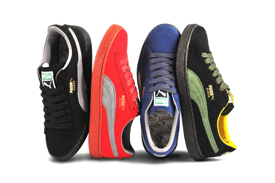 "Image of PUMA ""The List"" Re-Suede Color Pack"