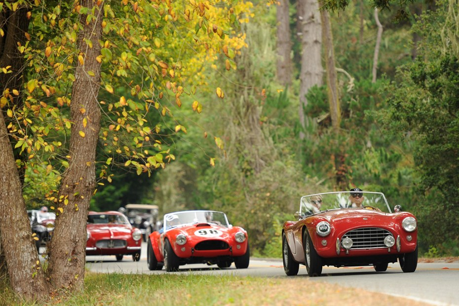 Image of Rare Classic Cars On Display At the 2012 Pebble Beach Tour d'Elegance