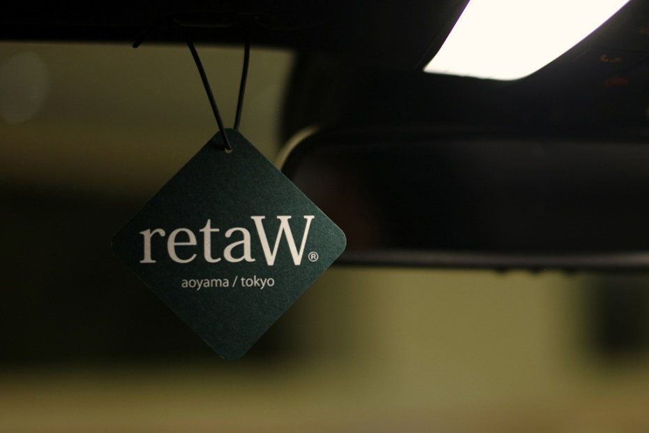 Image of retaW Fragrance Car Tag