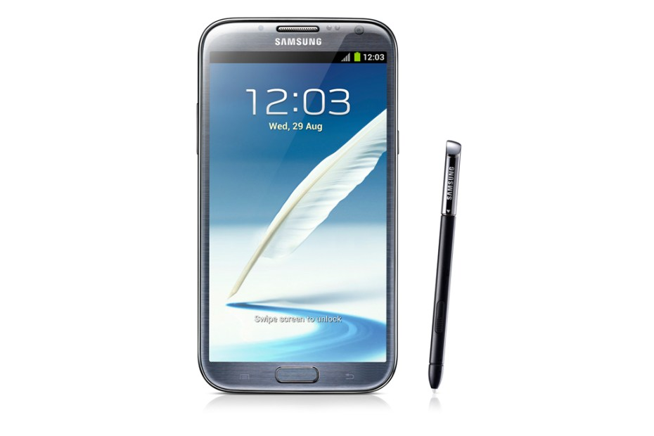 Image of Samsung Debuts Galaxy Note II
