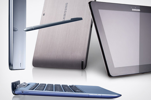 Image of Samsung Series 5 and 7 Slate PC's with Windows 8