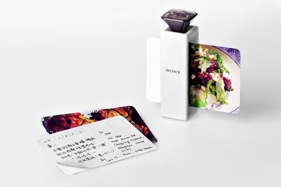 Image of Scent-Capturing Postcard Printer by Li Jingxuan for Sony
