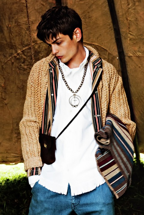 "Image of SENSE Magazine ""TEXT in visvim"" 2012 Fall/Winter Collection Editorial"