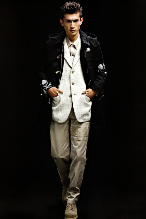 "Image of SENSE: mastermind JAPAN 2012 Fall/Winter ""new order"" Collection Editorial"
