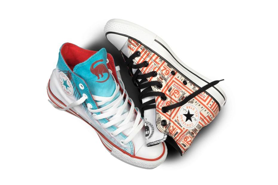 "Image of ShoeBiz x Converse Chuck Taylor All-Star ""San Francisco"" City Pack"