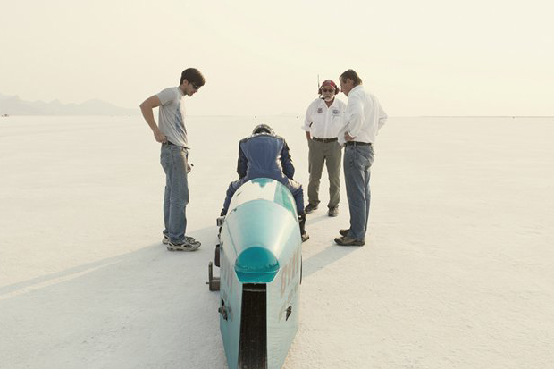 Image of Simon Davidson's Bonneville SpeedWeek Photographs