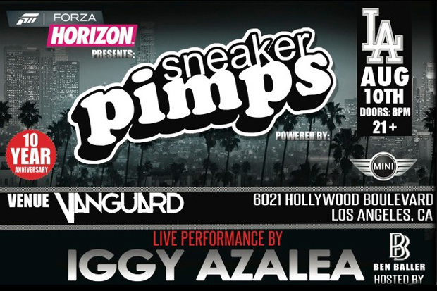 Image of Sneaker Pimps 2012 Kicks Off Its 10th Anniversary USA Tour in Los Angeles