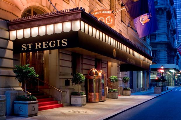 Image of St. Regis Hotel New York Announces Bentley Suite