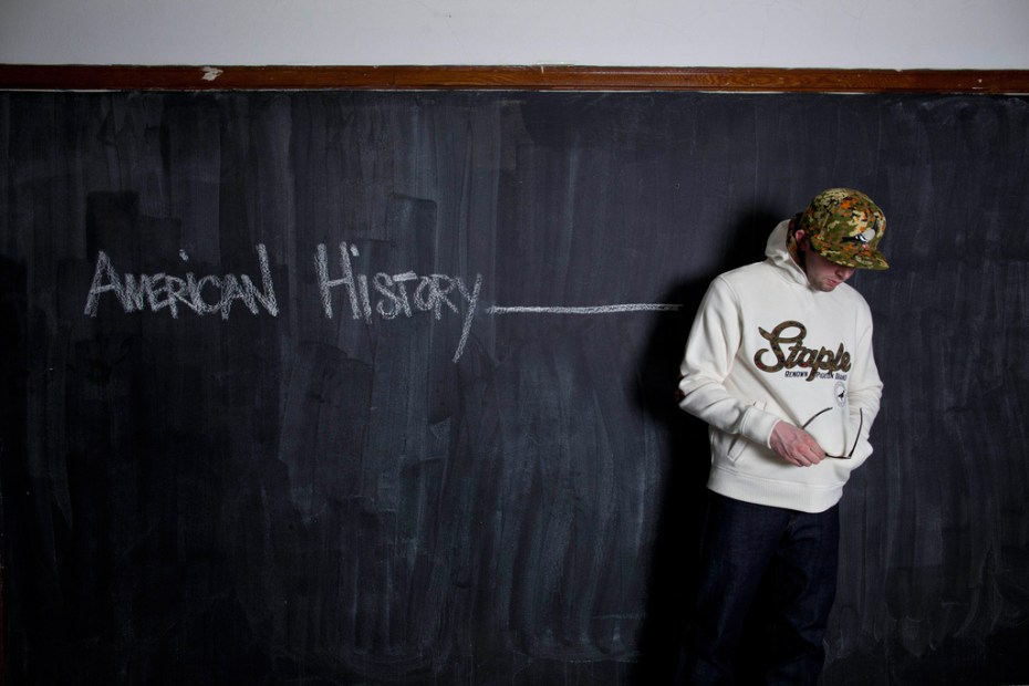 "Image of Staple 2012 Fall/Winter ""American History _______"" Collection"