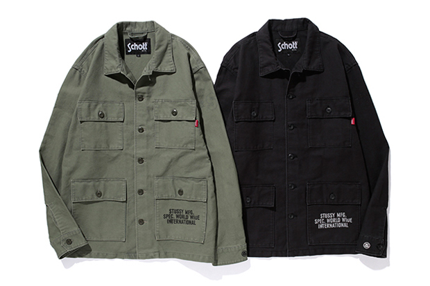 Image of Stussy x Schott NYC Collection