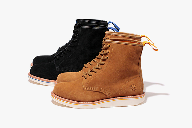 "Image of Stussy x Dr. Martens ""Brighton"" 8 Eye Boot"