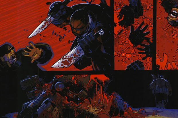 "Image of The Unreleased Wu-Tang ""Wu-Massacre"" Comics"