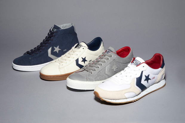 "Image of UNDFTD x Converse ""Born Not Made"" Collection"