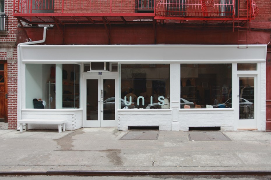 Image of UNIS Reveals New Look for NYC Store