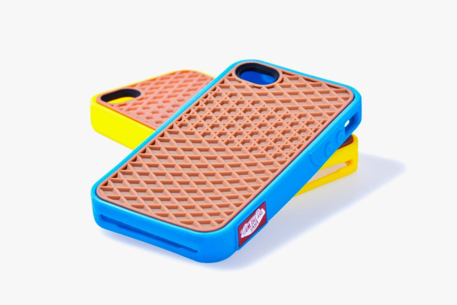 Image of Vans 2012 Rubber Waffle Case for iPhone 4/4S Yellow/Cyan