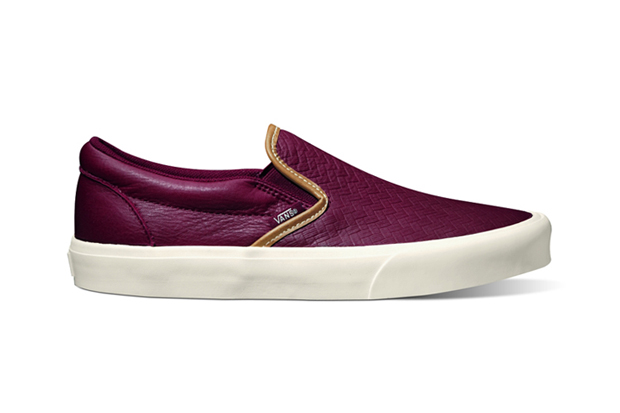 "Image of Vans California 2012 Fall Slip-On CA ""Braided"" Pack"