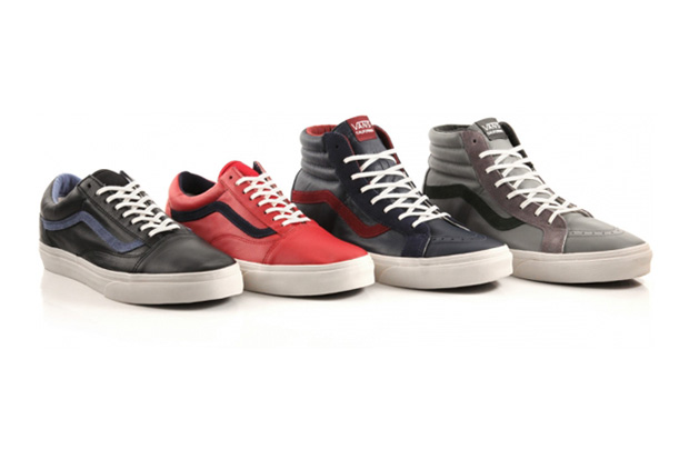 Image of Vans Leather California Reissues Pack