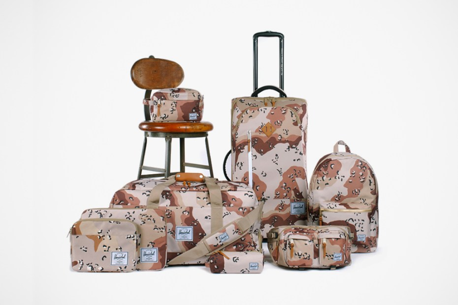 Image of Winner Announcement! Win a Herschel Supply Co. Desert Storm Camo Pack Travel Giveaway!