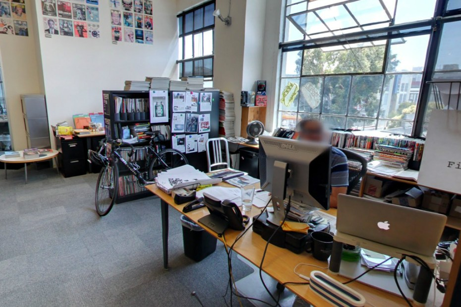 Image of Wired Becomes the First Newsroom in the World to be Documented on Google Maps' Street View