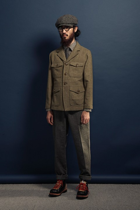 "Image of wisdom 2012 Fall/Winter ""Supertramp"" Lookbook"