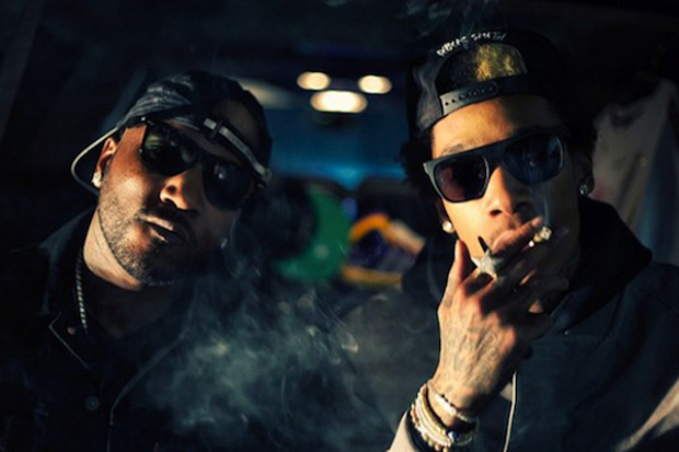 Image of Wiz Khalifa featuring Lil Wayne &amp; Young Jeezy - Work Hard, Play Hard (Remix)