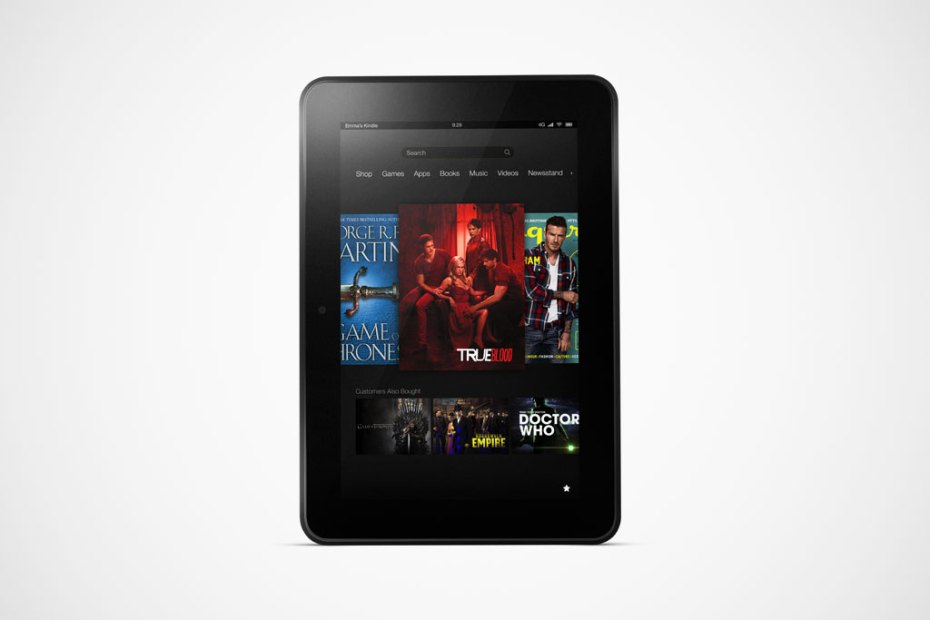 Image of Amazon Introduces the New Kindle Fire HD