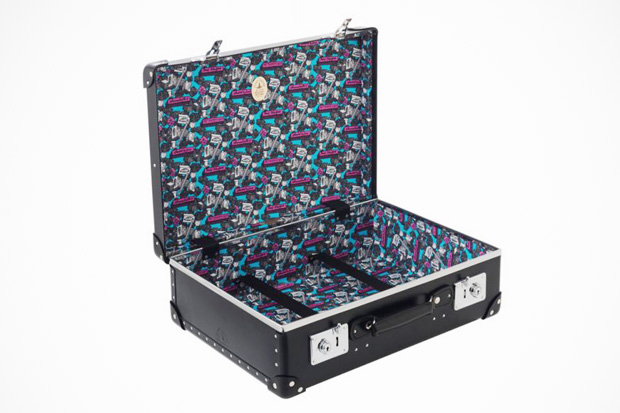 "Image of André x Globe-Trotter ""Mr. A"" Luggage Collection"