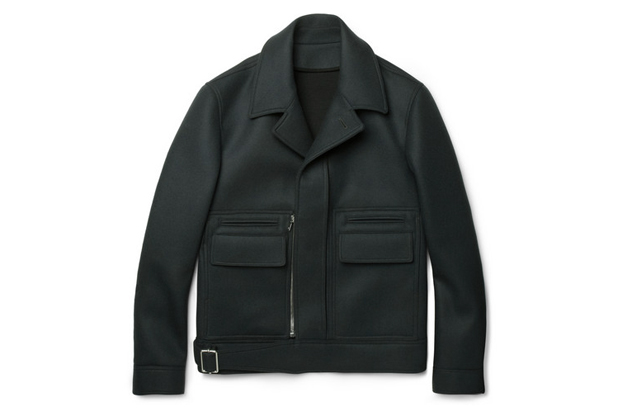 Image of Balenciaga Structured Wool-Blend Jacket