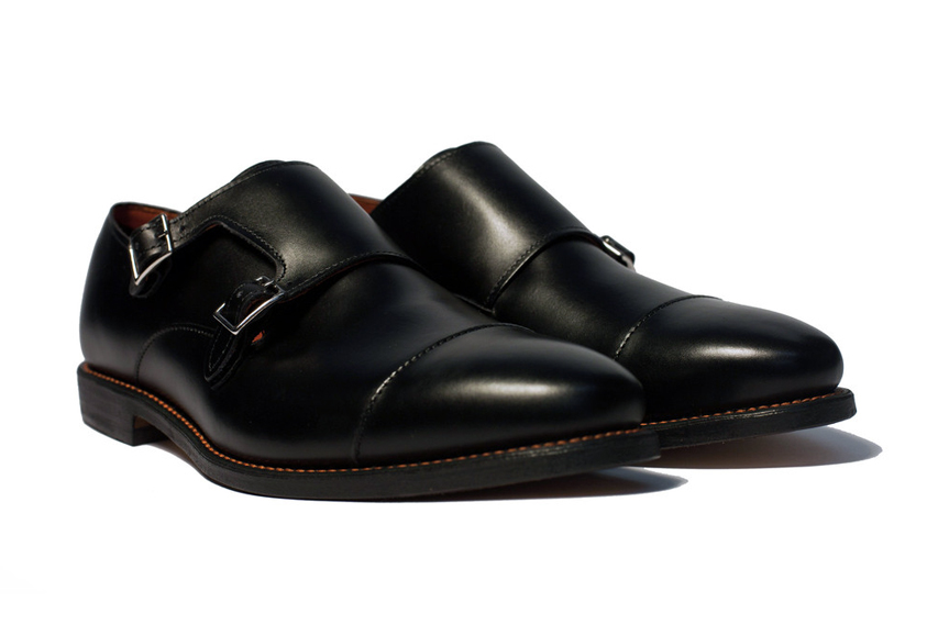 Image of Ball and Buck x Allen Edmonds Double Monk Strap