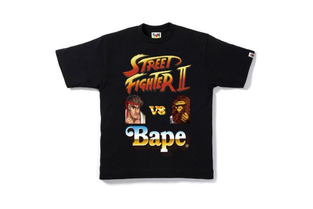 Image of Street Fighter x A Bathing Ape 2012 Capsule Collection