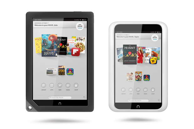 Image of Barnes & Noble Introduces Two New Nook Tablets