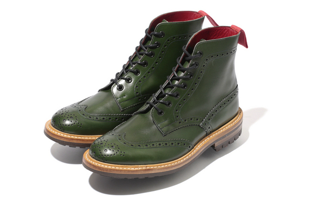 Image of A Bathing Ape x Tricker&#039;s 2012 Fall/Winter Collection