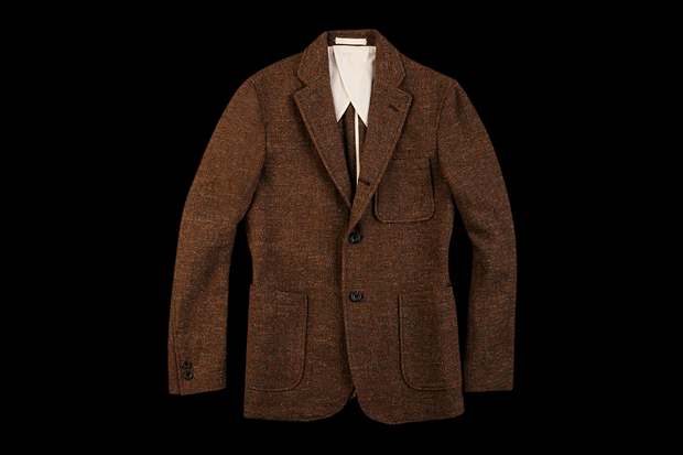 Image of BEAMS PLUS Nep Tweed Jacket