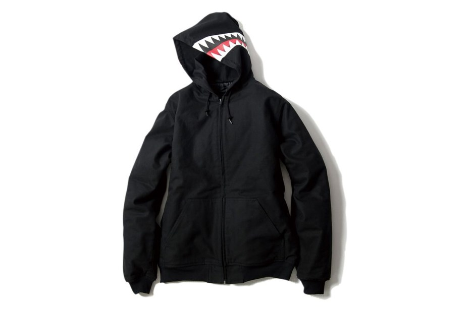 Image of BOUNTY HUNTER 2012 BxH Shark Hooded Jacket