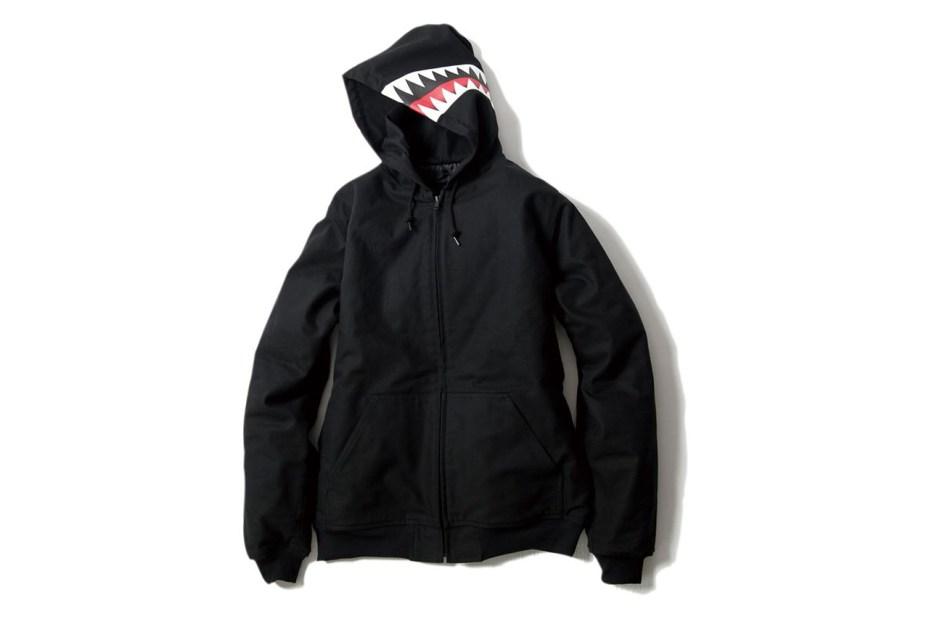 Image of BOUNTY HUNTER 2012 BxH Shark Hooded Jacket