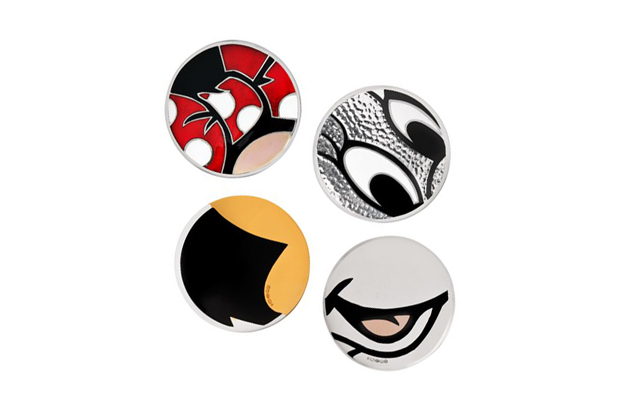 Image of BUNNEY Minnie Mouse-Inspired Badges