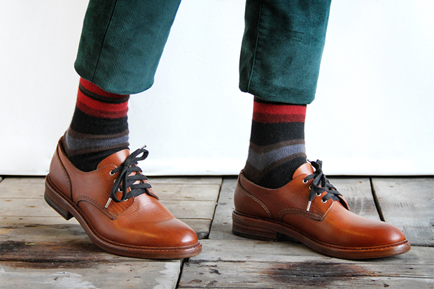 Image of Buttero 2012 Fall/Winter Round Toe Derby Shoe