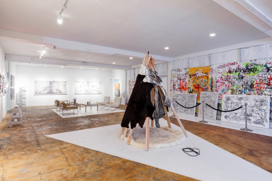"Image of Chad Muska ""Deconstructionism"" Exhibition @ Flat 425 Recap"
