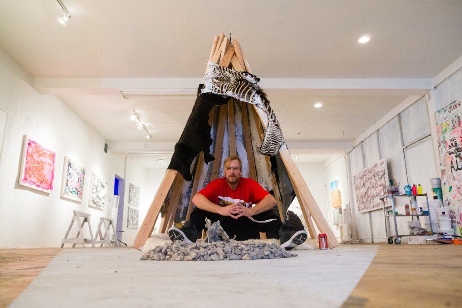 Image of Chad Muska &quot;Deconstructionism&quot; Exhibition @ Flat 425 Recap
