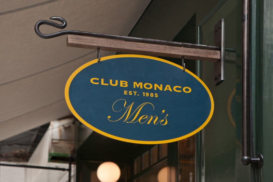 Image of Club Monaco Men's Store Opening Recap