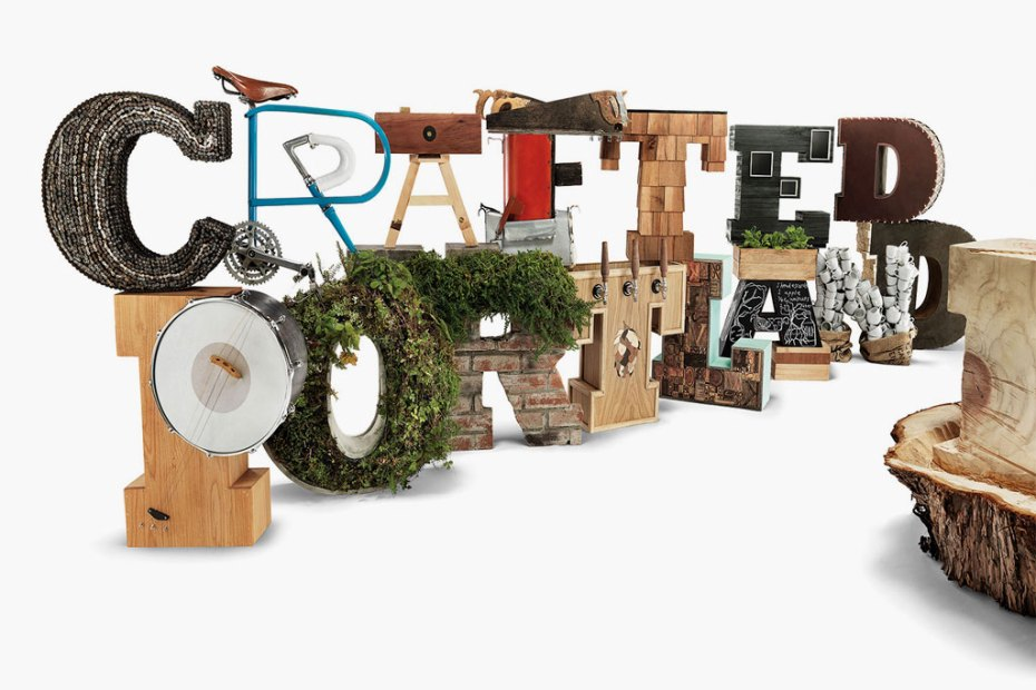 "Image of Danner and the Oregon College of Art & Craft present ""Crafted in Portland"" Installation"