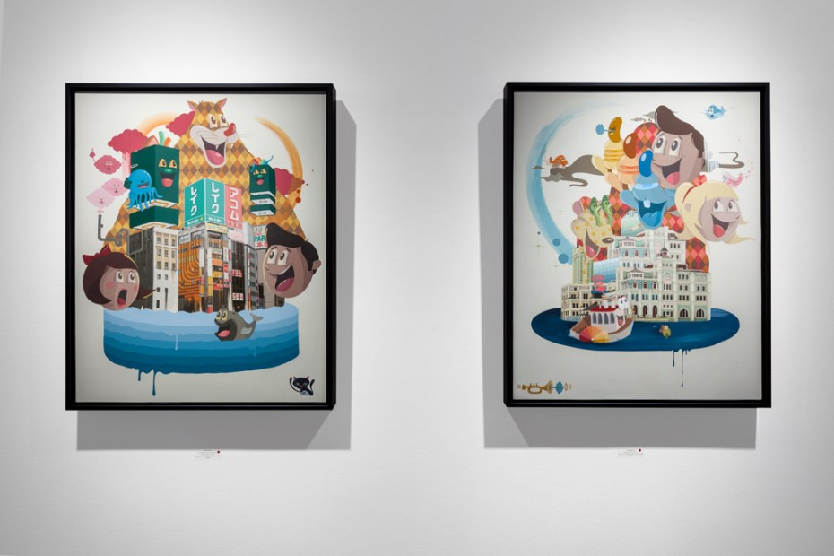 Image of Dabs Myla Marvelous Expeditions Exhibition @ Thinkspace Gallery 