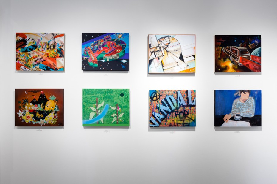 "Image of Dabs Myla ""Marvelous Expeditions"" Exhibition @ Thinkspace Gallery"