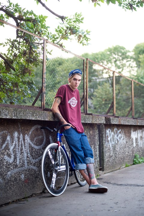Image of Dickies Shows the Streets of Poland in Latest Lookbook