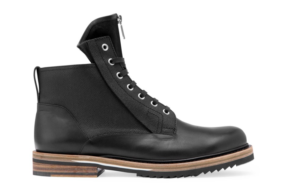 "Image of Dior Homme ""Zipper Tongue"" Boots"
