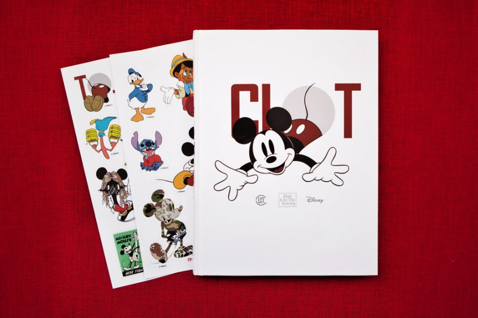 Image of Edison Chen Heads Up the Disney & CLOT 'Man Is In The Forest' Retrospect Book