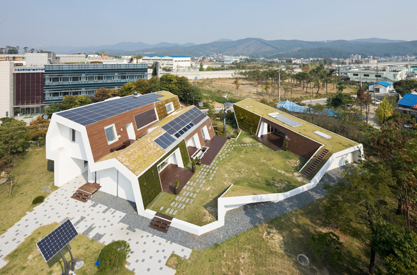 Image of E+ Green Home by UNSANGDONG Architects