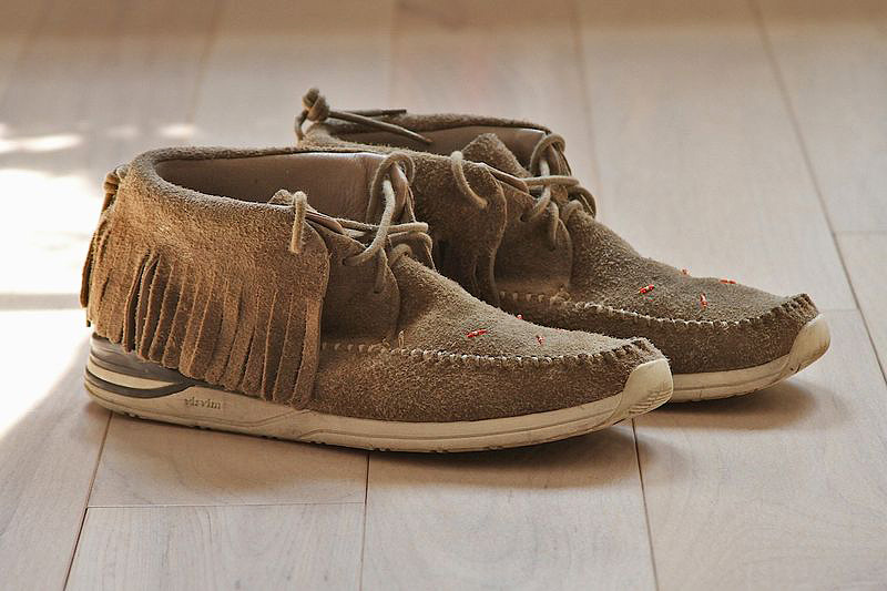 Image of Emile Haynie's visvim Shoe Collection