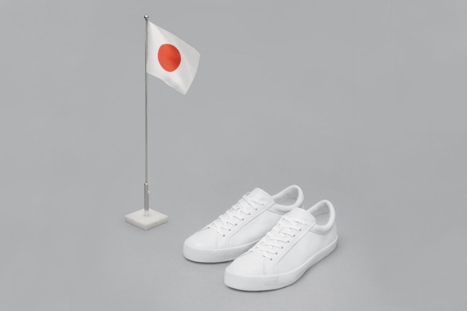 Image of Erik Schedin's Iconic All-White Sneaker Arrives at Dover Street Market's Ginza, Tokyo Location